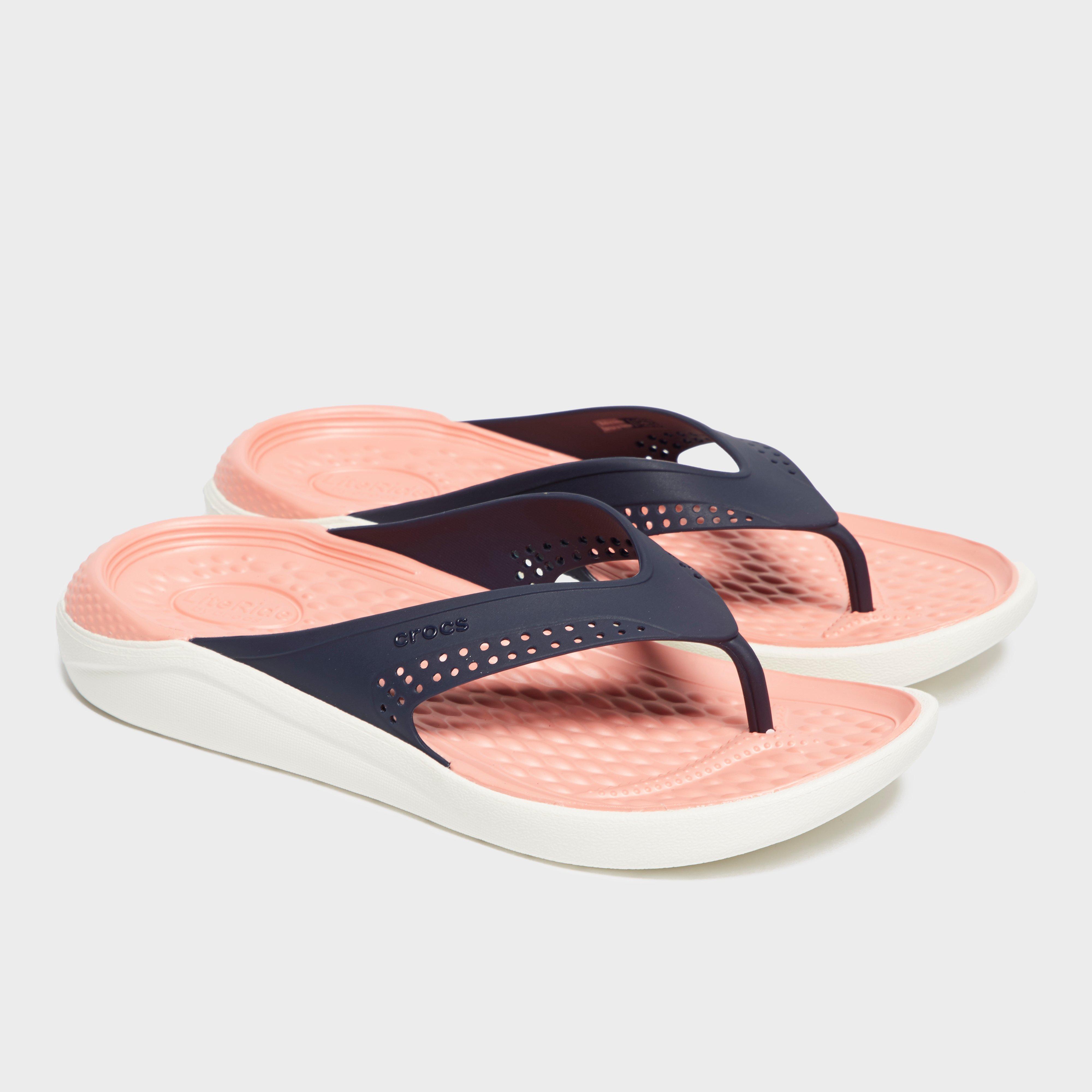 Crocs Women's Literide Flip - Blue, Blue