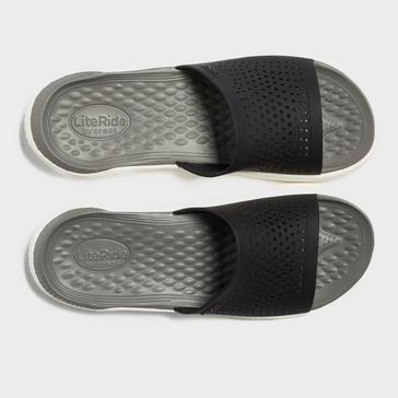 Grey|Grey Crocs Men's LiteRide™ Slide