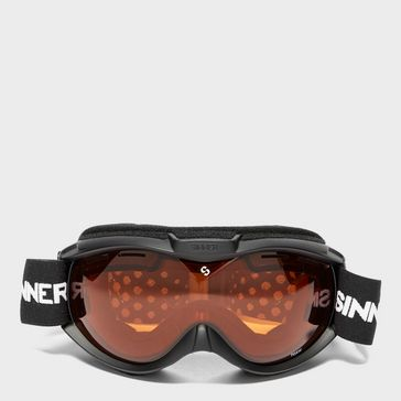 38af030d0b7 Black SINNER Toxic Snow Sports Goggles ...