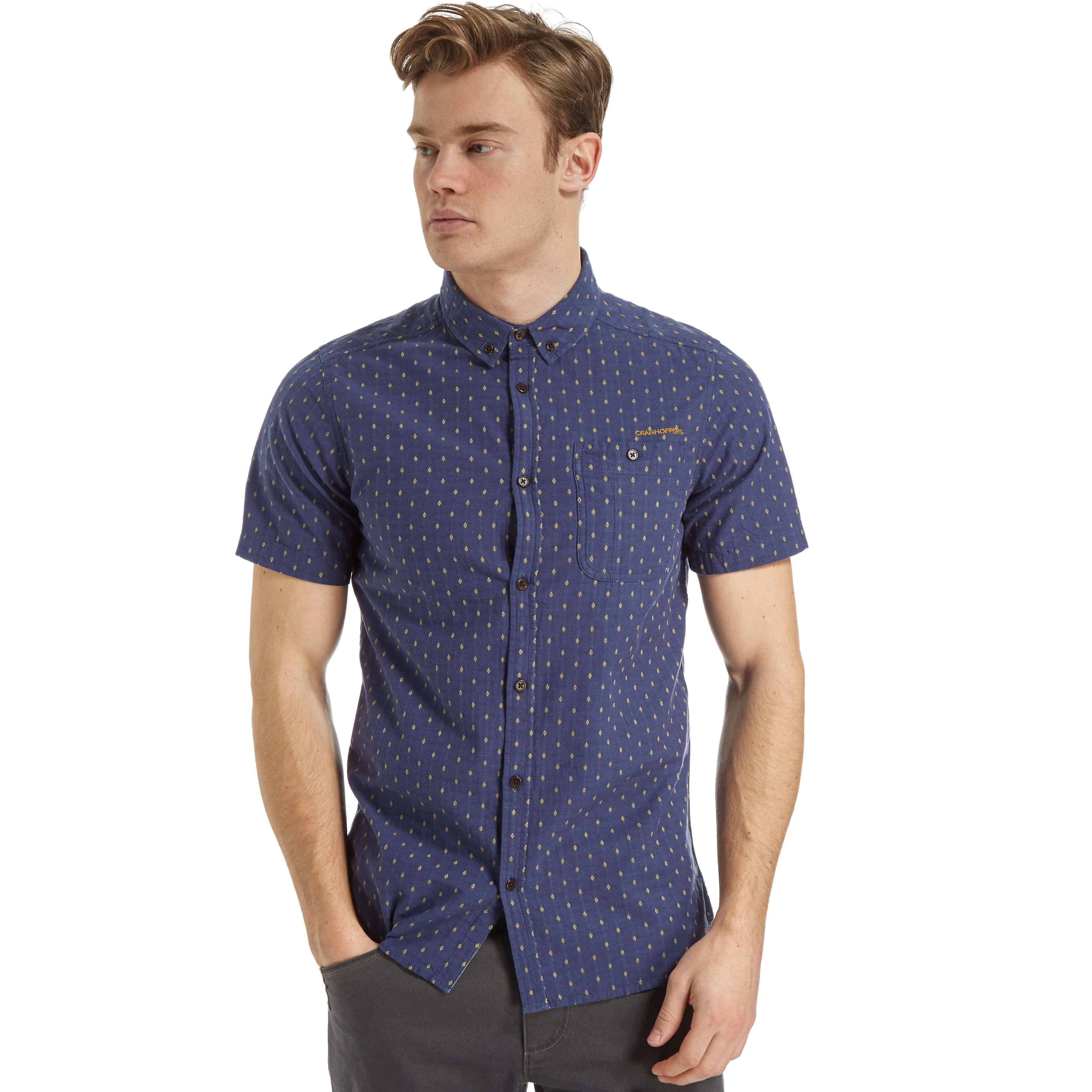 CRAGHOPPERS Men's Edmond Short Sleeved Shirt