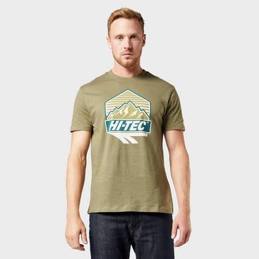 Khaki Hi Tec Men's Beltor T-Shirt