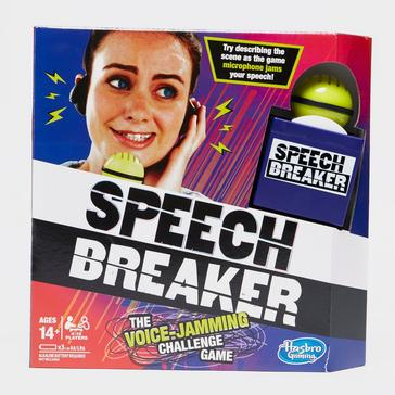 Black Hasbro Speech Breaker Game