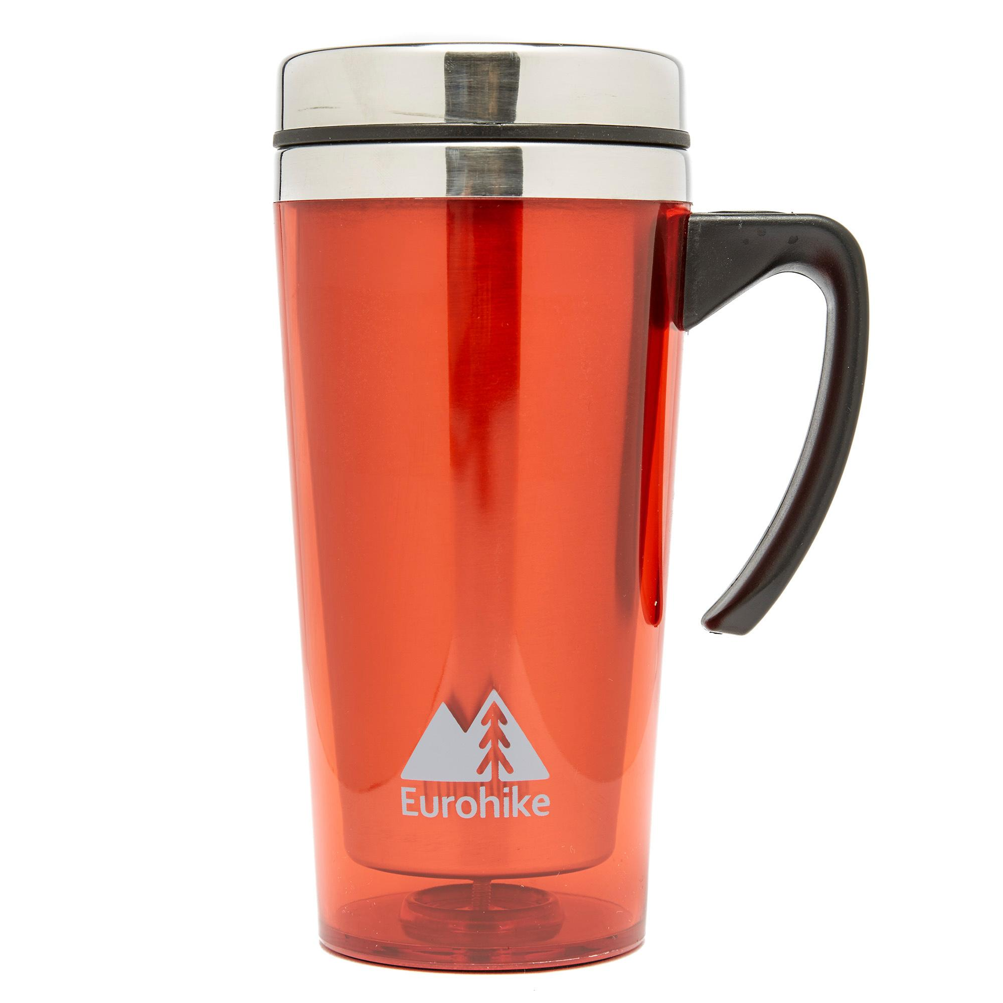 Eurohike Tall Insulated Mug - Red, Red