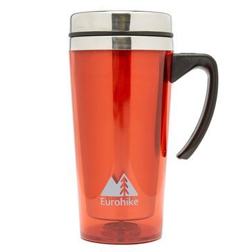 Red Eurohike Tall Insulated Mug