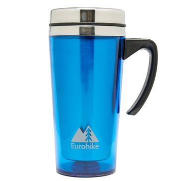 Blue Eurohike Tall Insulated Mug