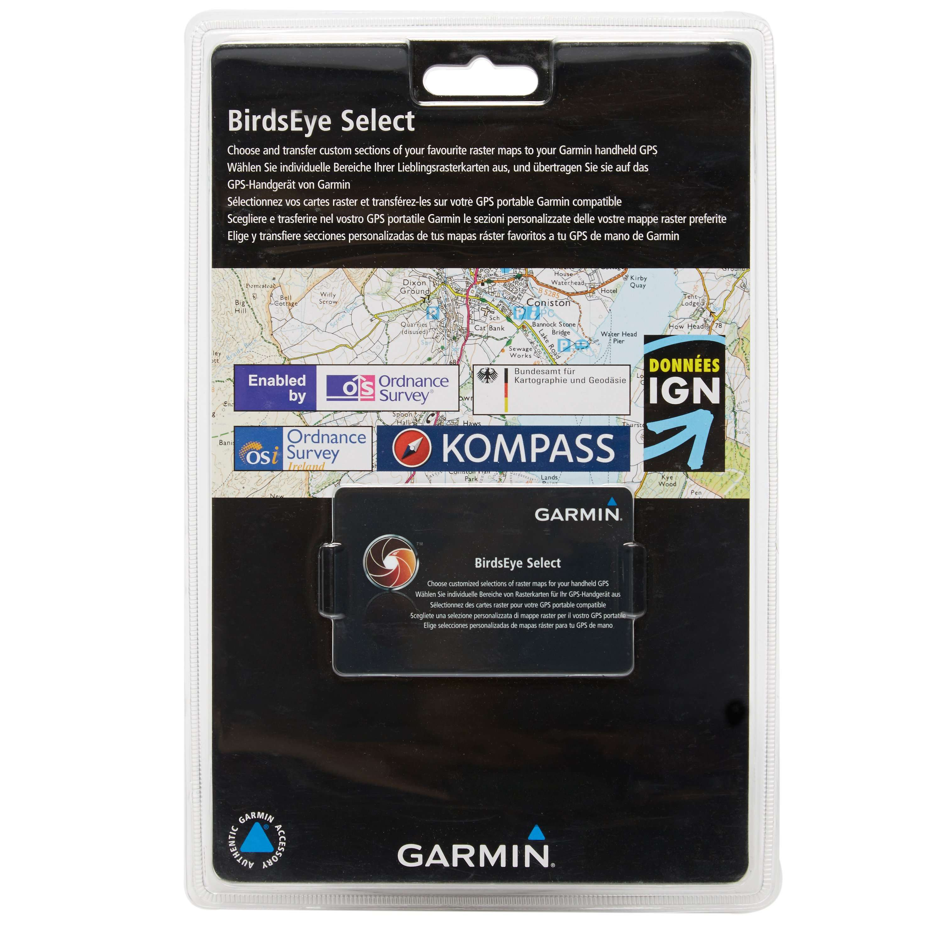 GARMIN BirdsEye Select Retail Card