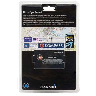 Black Garmin BirdsEye Select Retail Card