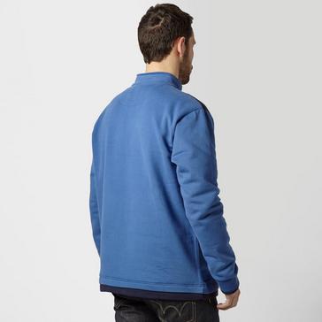 Blue One Earth Men's William Half Zip Pullover