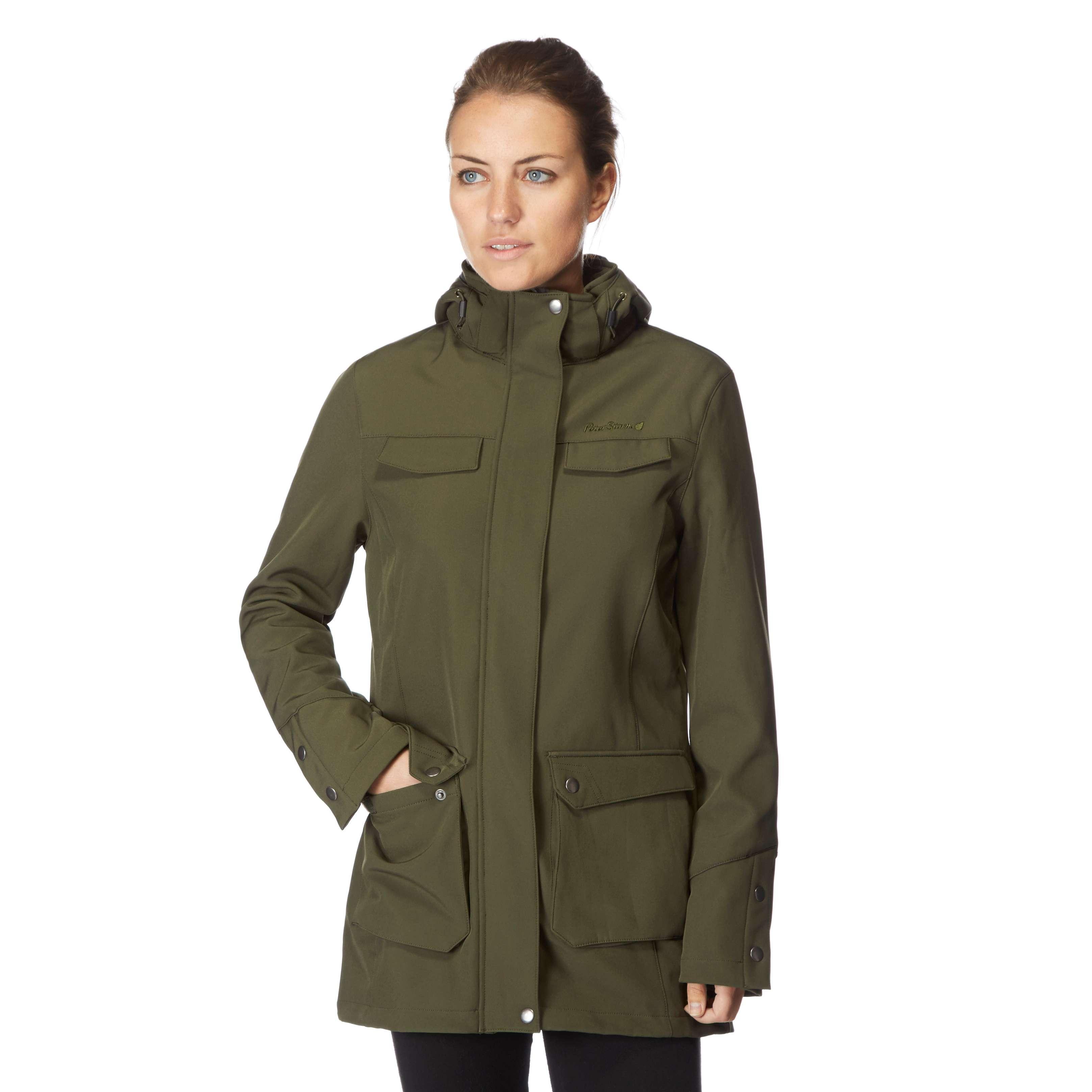 PETER STORM Women's Long Softshell Jacket