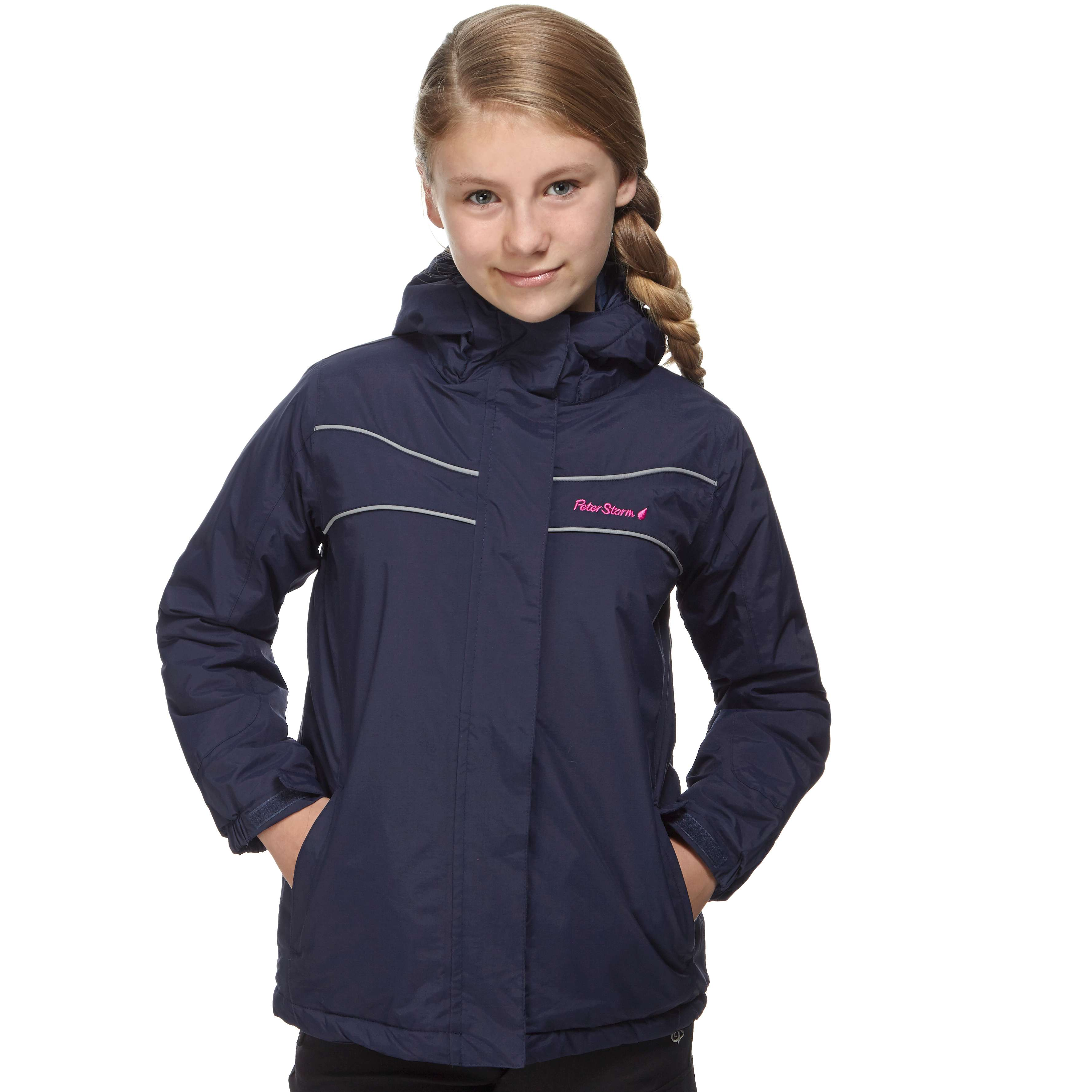 PETER STORM Girls' Insulated Waterproof Jacket