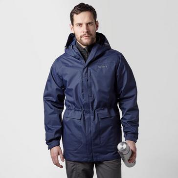 Navy Peter Storm Men's Cyclone Waterproof Jacket
