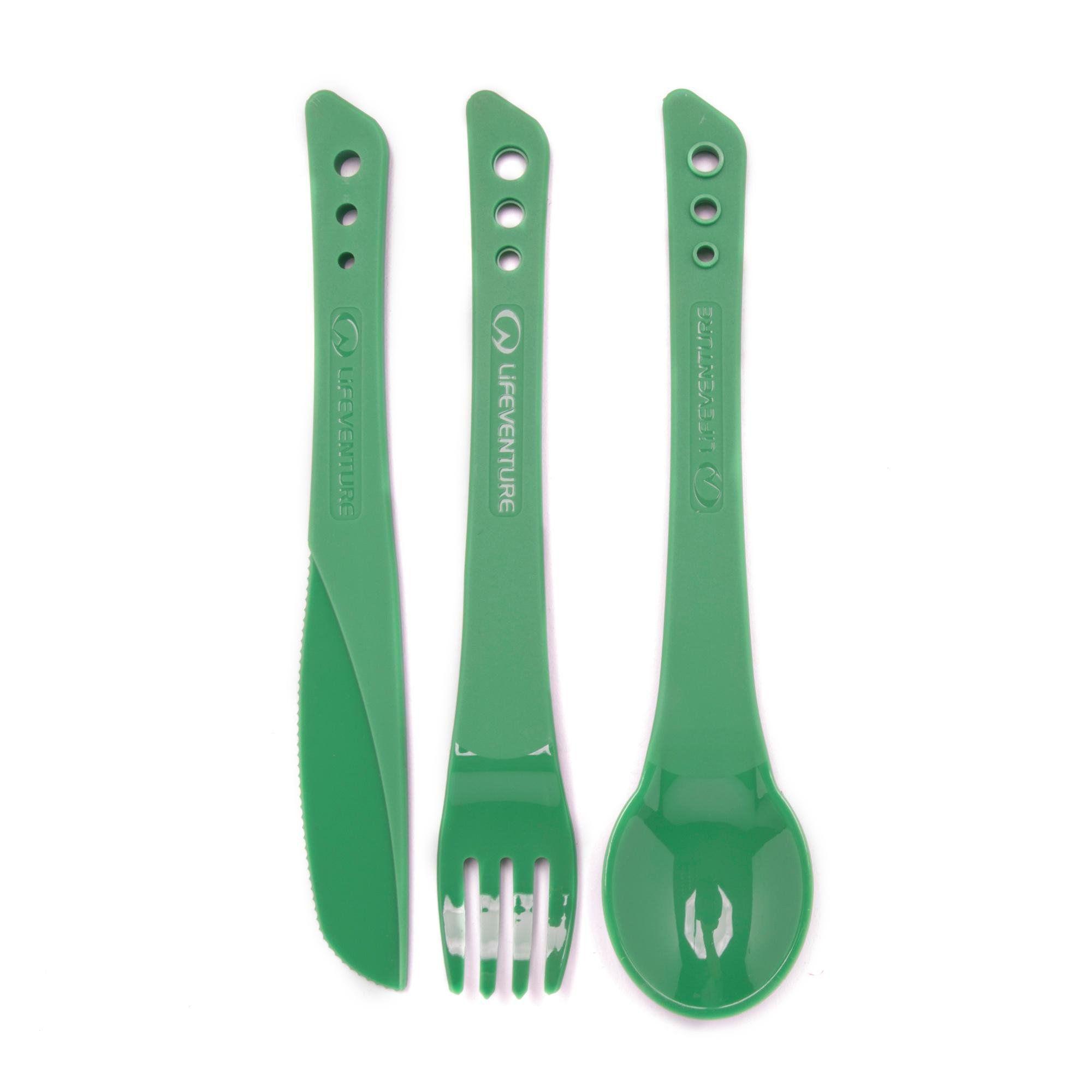 LIFEVENTURE Ellipse Knife, Fork and Spoon Set