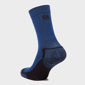 Navy SALOMON SOCKS Men's Merino Socks 2 Pack
