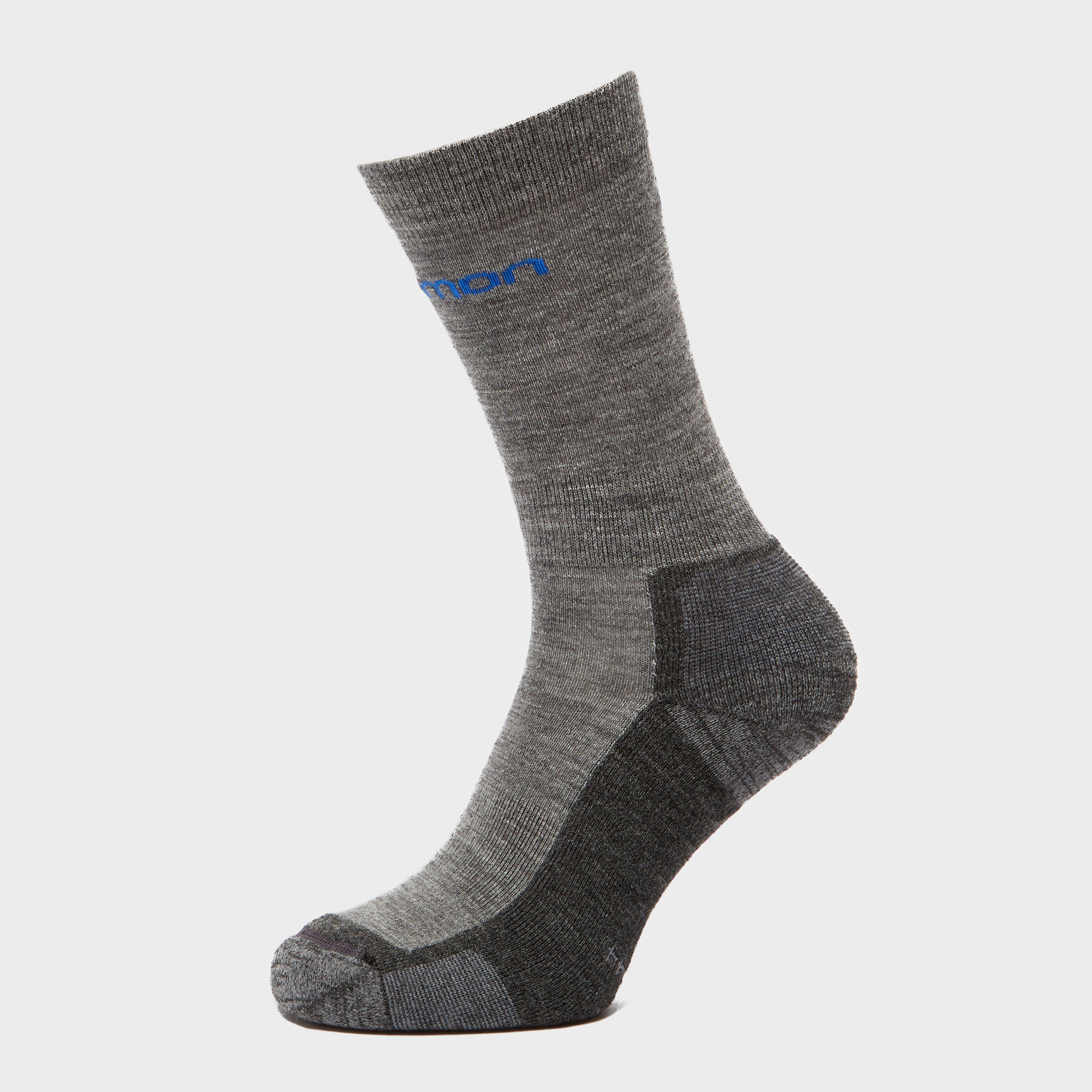Salomon Socks Salomon Socks Mens Merino Socks 2 Pack - Grey, Grey