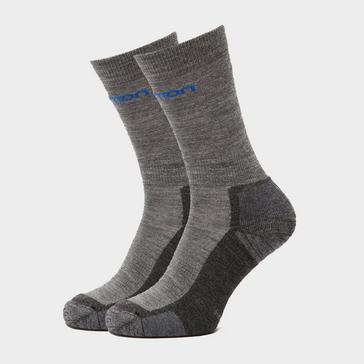 Grey|Grey SALOMON SOCKS Men's Merino Socks 2 Pack