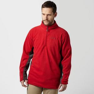 PETER STORM Men's Half Zip Panel Fleece