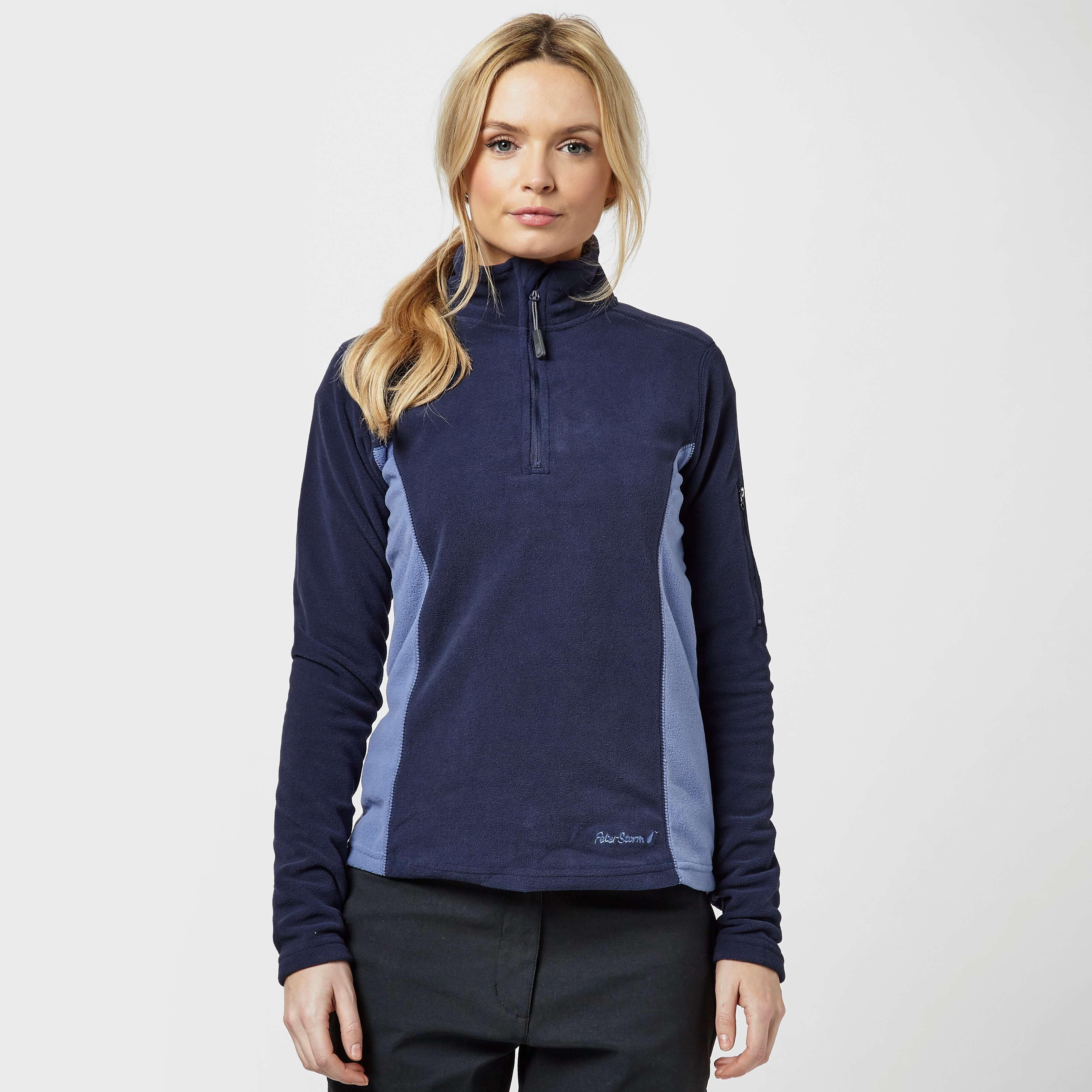 PETER STORM Women's Half Zip Panel Fleece