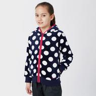 Girls' Dotty Full Zip Fleece