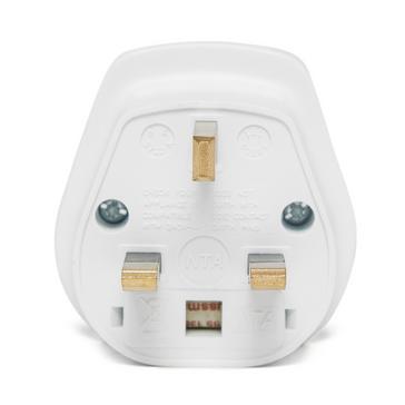 White Design Go Foreign Visitor Adaptor