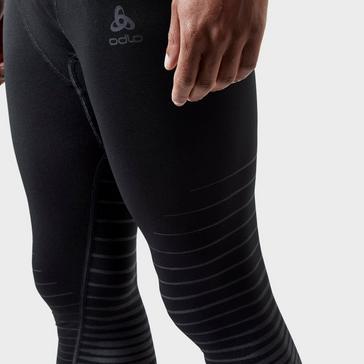 Black Odlo Men's Performance Light Pants