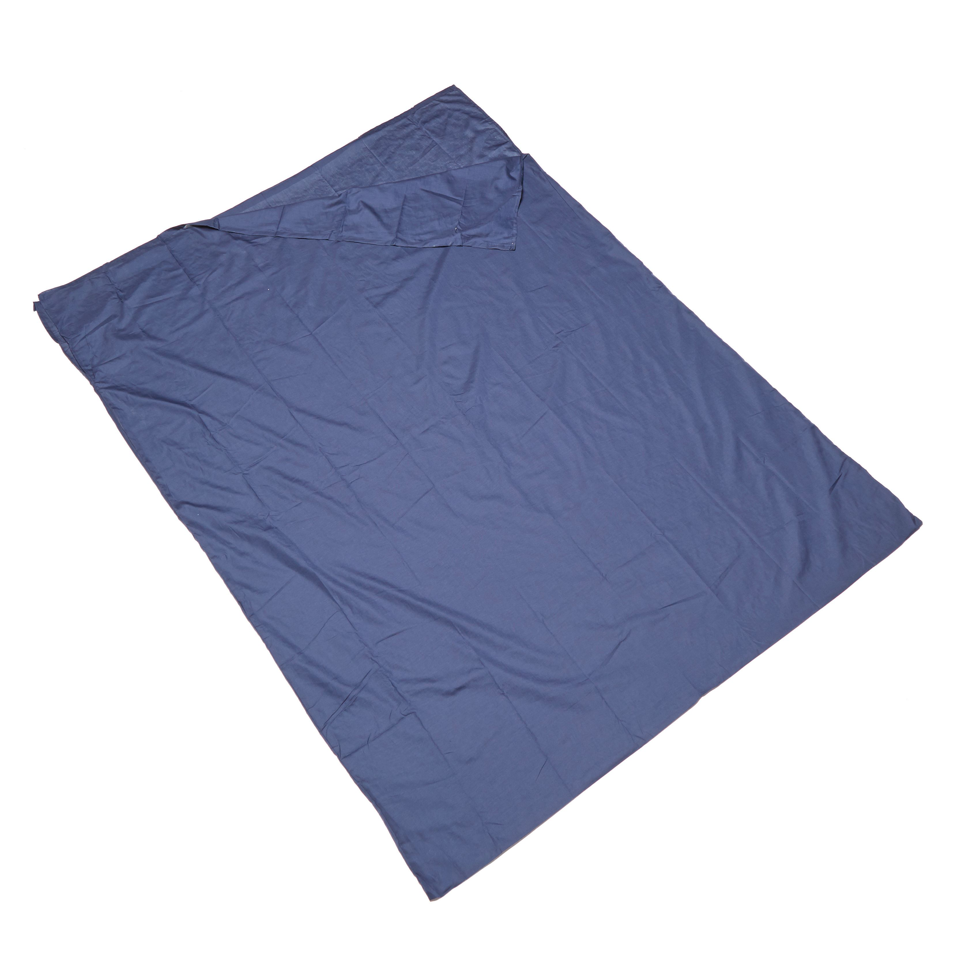 EUROHIKE Polycotton Sleeping Bag Liner - Double