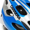 Blue CARRERA Pistard Bike Helmet with Rear Light image 4