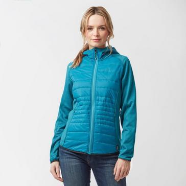 Blue Hi Tec Women's Sia Hybrid Jacket