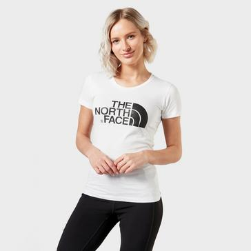 White The North Face Women's Easy T-Shirt