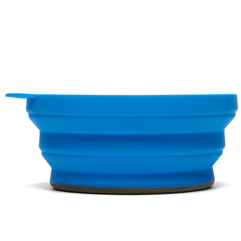 Lifeventure Lifeventure Silicon Ellipse Bowl - Blue, Blue