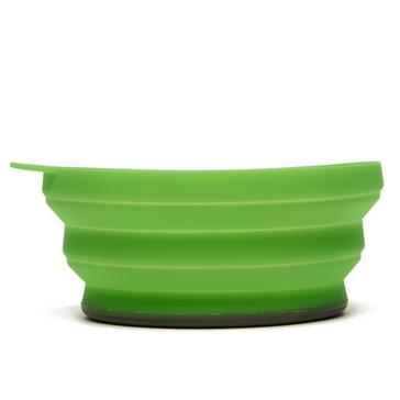 Green LIFEVENTURE Silicon Ellipse Bowl
