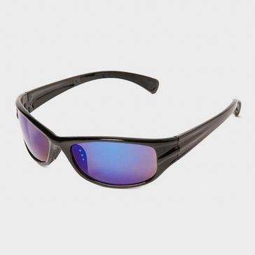 Black Peter Storm Kids' Sport Wrap Sunglasses