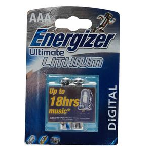 O.B. AAA Energizer Ultimate Lithium Batteries