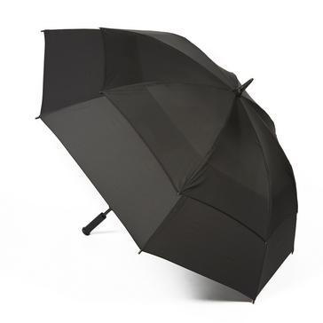 Black Fulton Stormshield Golfing Umbrella