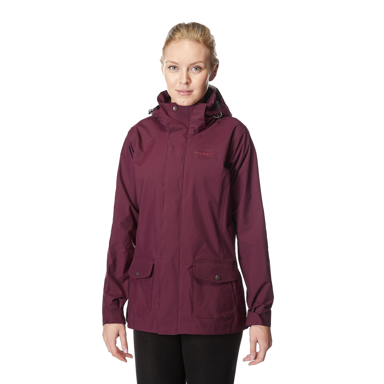 Brasher Women's Windermere Waterproof Jacket - Bear Grylls UK - £37.50 Brasher Women's Windermere Waterproof Jacket, Purple - 웹