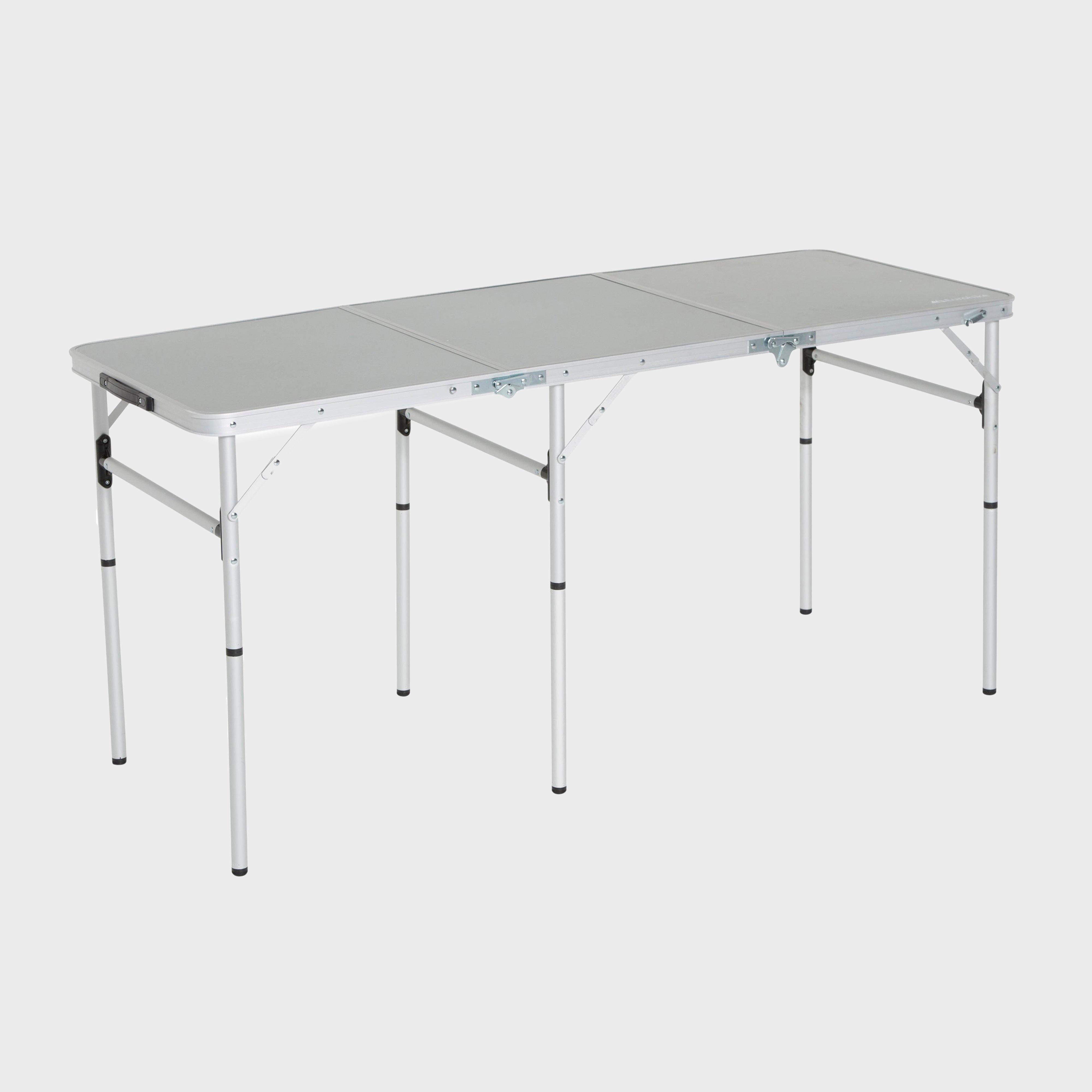 Eurohike Eurohike Triple Table - Silver, Silver