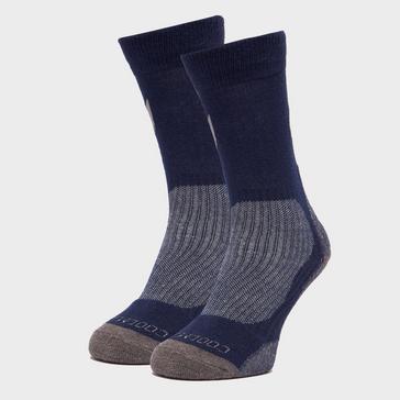 Blue Peter Storm Men's Lightweight Outdoor Sock - Twin Pack
