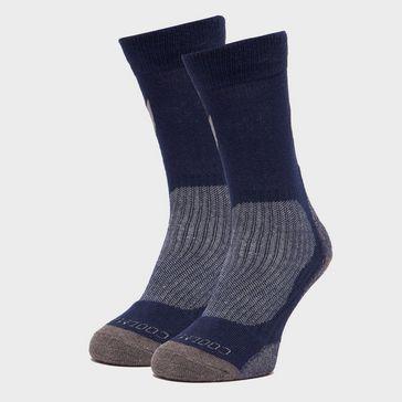 5394aafdd4c Blue PETER STORM Men s Lightweight Outdoor Sock - Twin Pack ...