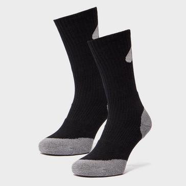 Grey|Grey Peter Storm Double Layer Socks - 2 Pack