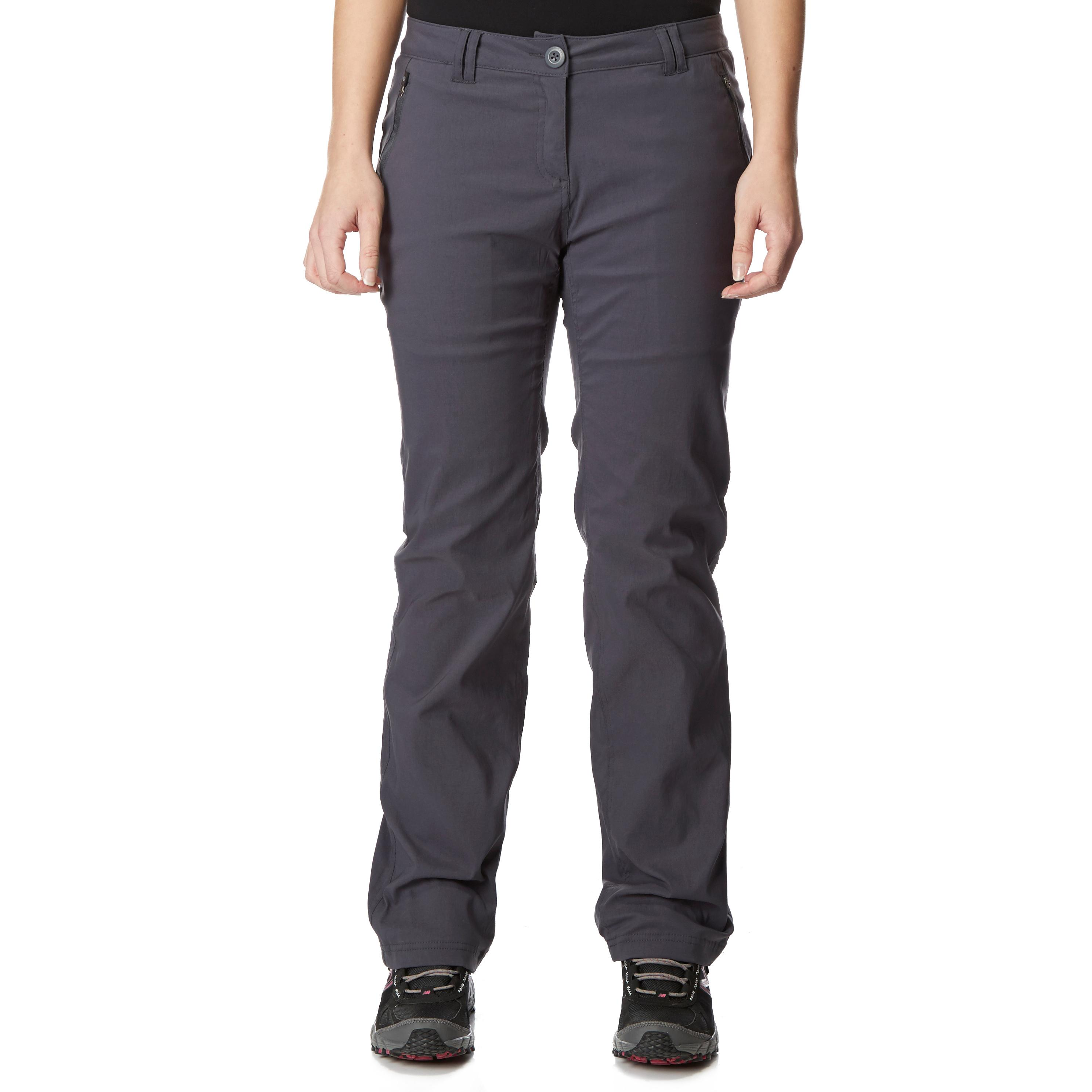 Craghoppers Womens Kiwi Lined Trousers Grey