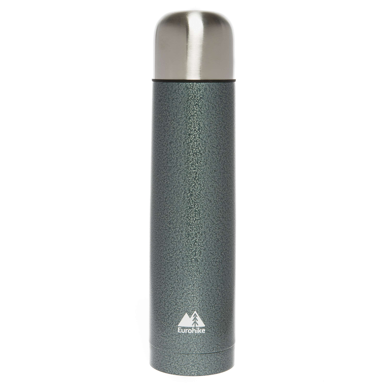 EUROHIKE 1 Litre Hammertone Vacuum Flask