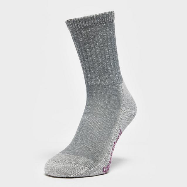 2d04bb3befe79 Grey SMARTWOOL Women's Hike Light Crew Socks image 1