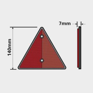 Reflective Trailer Triangle 2 Pack