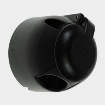 Black Maypole 12N 7 Pin Plastic Socket
