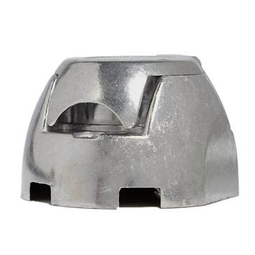 Silver Maypole 12N 7 Pin Aluminium Socket
