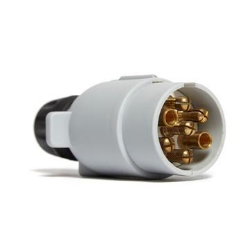 Black Maypole 12S 7 Pin Plastic Plug