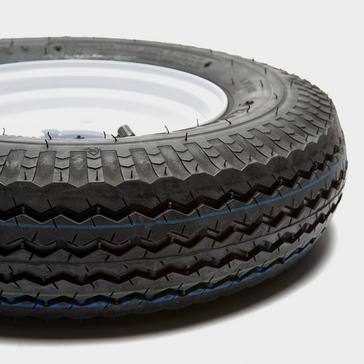 Black Maypole Trailer Wheel and Tyre