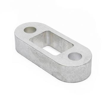 White Maypole 1 Inch Towball Spacer