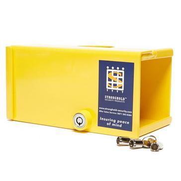 Yellow Maypole Strongbox Hitch Lock