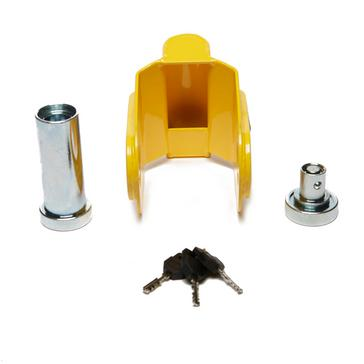 yellow Maypole Alko Hitch Lock