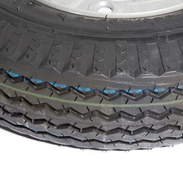 Black Maypole Spare Wheel for MP68122 Trailer
